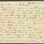Pakketje brieven en postkaarten van 1916, item 91
