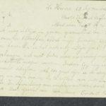 Pakketje brieven en postkaarten van 1916, item 96