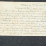 Pakketje brieven en postkaarten van 1916, item 98