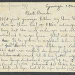 Pakketje brieven en postkaarten van 1916, item 135