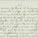 Pakketje brieven en postkaarten van 1916, item 140