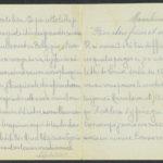 Pakketje brieven en postkaarten van 1917