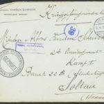 Pakketje brieven en postkaarten van 1917, item 12