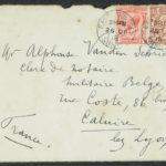 Pakketje brieven en postkaarten van 1917, item 23