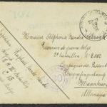 Pakketje brieven en postkaarten van 1917, item 27