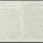 Pakketje brieven en postkaarten van 1917, item 32
