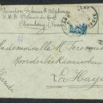 Pakketje brieven en postkaarten van 1917, item 33