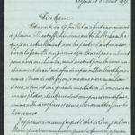 Pakketje brieven en postkaarten van 1917, item 35