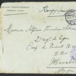 Pakketje brieven en postkaarten van 1917, item 40