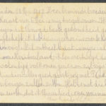 Pakketje brieven en postkaarten van 1917, item 48