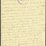 Pakketje brieven en postkaarten van 1917, item 50