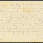 Pakketje brieven en postkaarten van 1917, item 58
