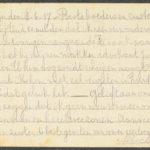 Pakketje brieven en postkaarten van 1917, item 62