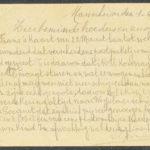 Pakketje brieven en postkaarten van 1917, item 64