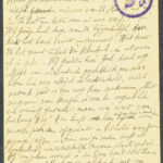 Pakketje brieven en postkaarten van 1917, item 66