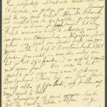 Pakketje brieven en postkaarten van 1917, item 70