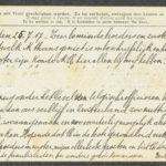 Pakketje brieven en postkaarten van 1917, item 76