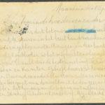 Pakketje brieven en postkaarten van 1917, item 92