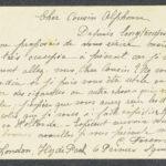 Pakketje brieven en postkaarten van 1917, item 104