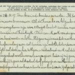 Pakketje brieven en postkaarten van 1917, item 121