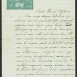 Pakketje brieven en postkaarten van 1917, item 134