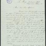 Pakketje brieven en postkaarten van 1917, item 137