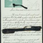 Pakketje brieven en postkaarten van 1917, item 148