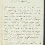 Pakketje brieven en postkaarten van 1917, item 152