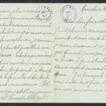 Pakketje brieven en postkaarten van 1917, item 159