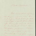 Pakketje brieven en postkaarten van 1917, item 161