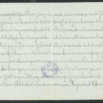 Pakketje brieven en postkaarten van 1917, item 165