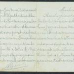 Pakketje brieven en postkaarten van 1917, item 166