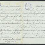 Pakketje brieven en postkaarten van 1917, item 167