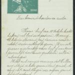 Pakketje brieven en postkaarten van 1917, item 169