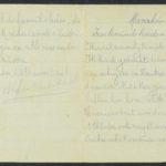 Pakketje brieven en postkaarten van 1917, item 182