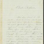 Pakketje brieven en postkaarten van 1917, item 189