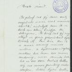 Pakketje brieven en postkaarten van 1917, item 191
