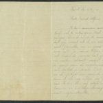 Pakketje brieven en postkaarten van 1917, item 195