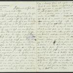 Pakketje brieven en postkaarten van 1917, item 198