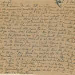 """Scrisori din colecţiile Bibliotecii """"V.A. Urechia"""" Galaţi, item 14"""