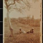 Fotos und Feldpostkarten aus Xousse und Vaucourt von Konrad Mergner