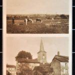 Postkarten aus den lothringischen Städten Rixingen und Anslingen von Konrad Mergner