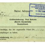 Correspondentie van Pieter Godfried Bruelemans vanuit kamp Soltau, item 7