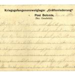 Correspondentie van Pieter Godfried Bruelemans vanuit kamp Soltau, item 21
