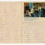 Johann Geerkens Briefwechsel mit seiner Frau bis zu seinem Tod, item 3