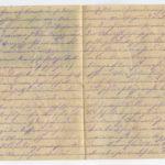 Johann Geerkens Briefwechsel mit seiner Frau bis zu seinem Tod, item 4