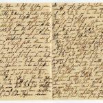 Johann Geerkens Briefwechsel mit seiner Frau bis zu seinem Tod, item 20