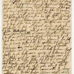 Johann Geerkens Briefwechsel mit seiner Frau bis zu seinem Tod, item 22