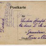 Feldpost der Familie Geerken aus Hude, item 9