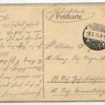 Feldpost der Familie Geerken aus Hude, item 18